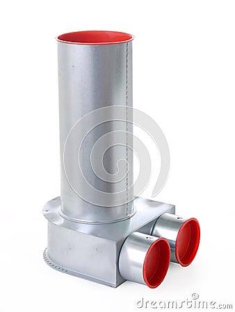 Accessorio per tubi di ricupero