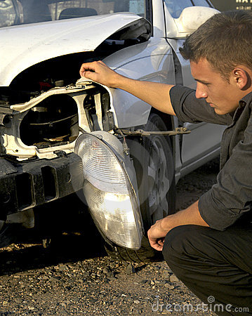 Free Accident Damage Stock Photography - 1043732
