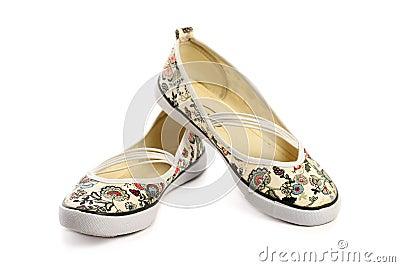 Paia delle pantofole della donna