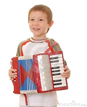 Free Accordion Boy 201 Royalty Free Stock Photography - 2151847