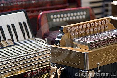 Accordion musical instruments