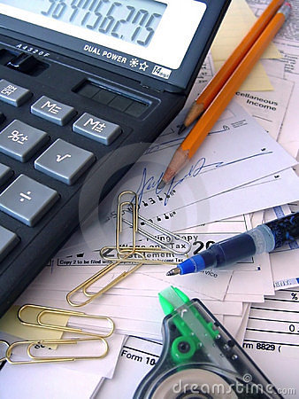 Free Accounting Mess Stock Photos - 109093