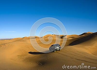 Accross sahara desert