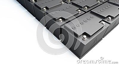 Accumulator battery