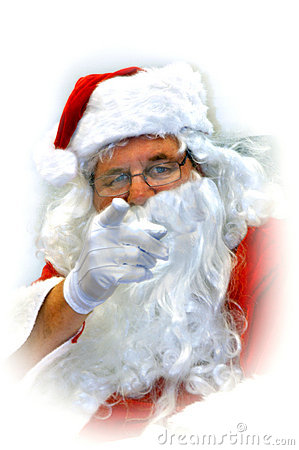 Accusing finger ..naughty or nice?