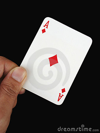 Ace in hand