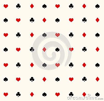 Ace seamless pattern
