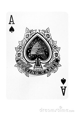 Ace of Spades w/ Path