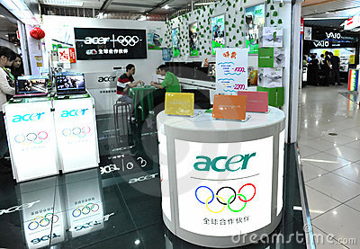 Acer shop Editorial Photo