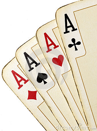 Free Aces Royalty Free Stock Image - 868016