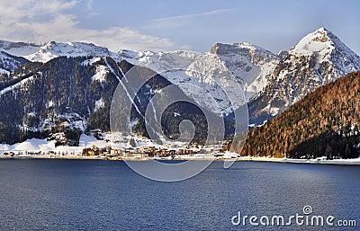 Achensee lake in Austrian Alps
