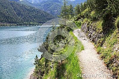The Achensee Lake in Tirol, Austria