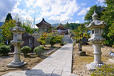 Achi village in Nagano, Japan