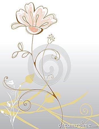 Achtergrond bloemen