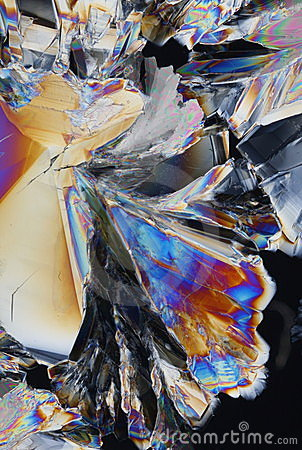 Acid Crystals Background