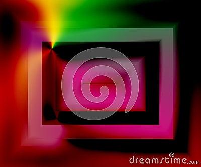 Acid Screen Stock Photo