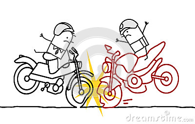 Acidente da motocicleta