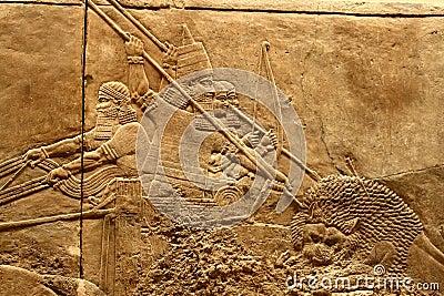 Acient Assyrian art 2