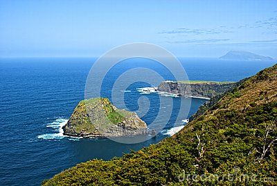 Acores; north coast of flores island