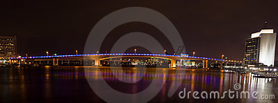 Acosta Bridge, Jacksonville FL (Night)