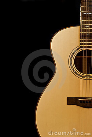 Free Acoustic Guitar Royalty Free Stock Photography - 10219047