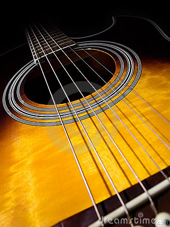 Free Acoustic Guitar Stock Photography - 10793192