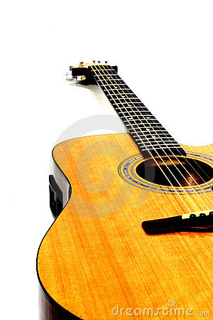 Free Acoustic Guitar Stock Photo - 29300