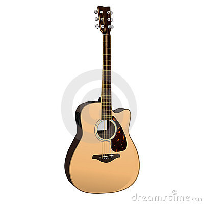Free Acoustic Guitar Royalty Free Stock Photos - 8989988