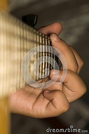 Acoustic Guitar - Chord G-dur