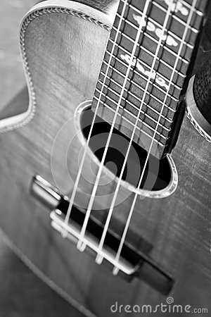 Free Acoustic Guitar,extremely Shallow Dof. Royalty Free Stock Photography - 35217107
