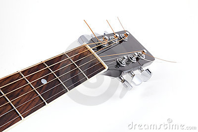 Acoustic guitar s neck