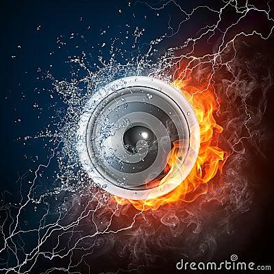 Free Acoustic Loudspeaker Royalty Free Stock Images - 15852359