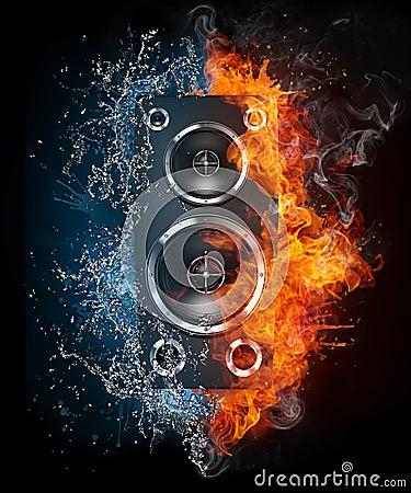 Free Acoustic Loudspeaker Stock Photo - 19647780