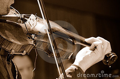 Acoustic Violin Player