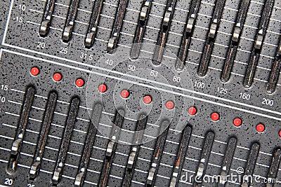 Acoustics knob