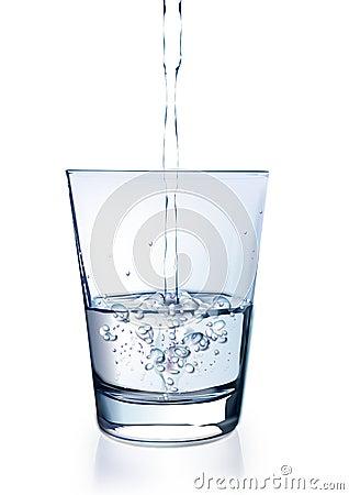 Acqua in vetro