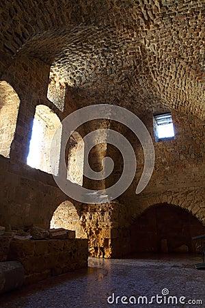 Acre knight templar castle,