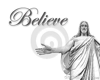 Acredite em Jesus