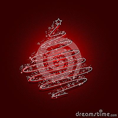 Acribble christmas tree