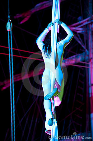 Acrobat Editorial Stock Image