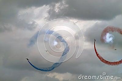 Acrobat air show