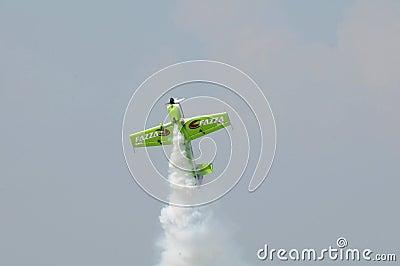 Acrobatics Plane Editorial Image