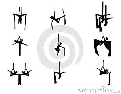Acrobats set