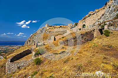 Acrocorinth, Greece