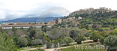 The Acropolis & Agora
