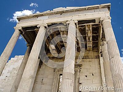 Ancient portico ruins