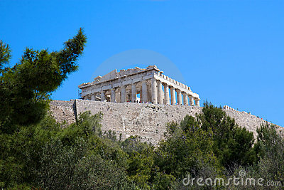 Acropolis, Athens, Greece Editorial Stock Photo