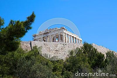 Acropolis, Athens, Greece Editorial Stock Photo