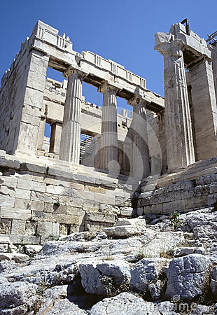 Acropolis of Athens ruins