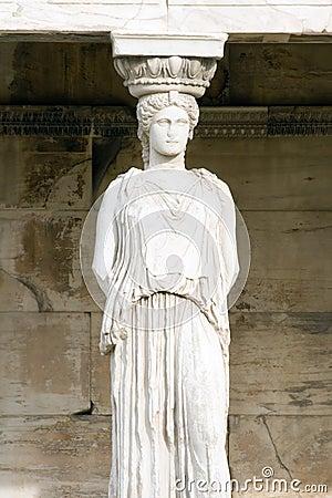 Acropolis Maiden Column